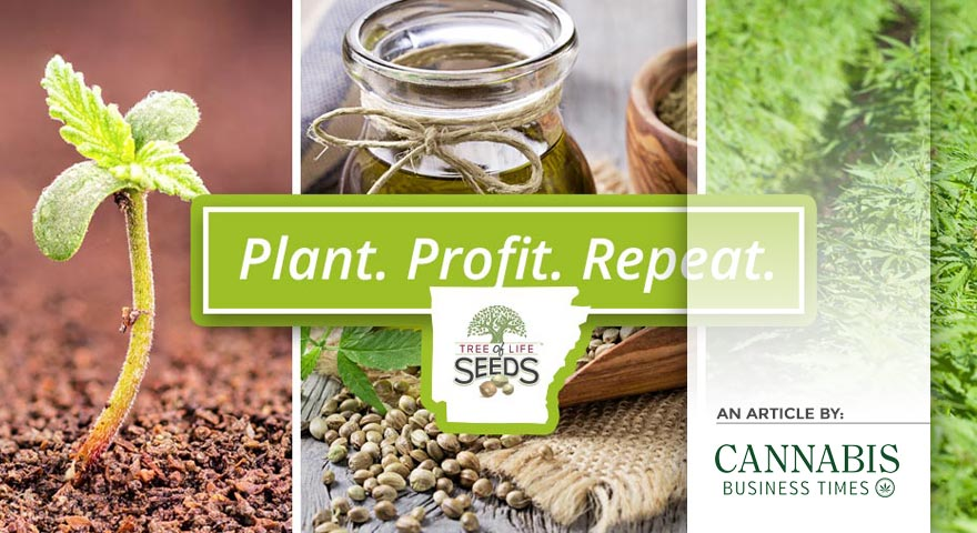 Tree of Life Seeds - Article by - Cannabis Business Times - Plant Profit Repeat
