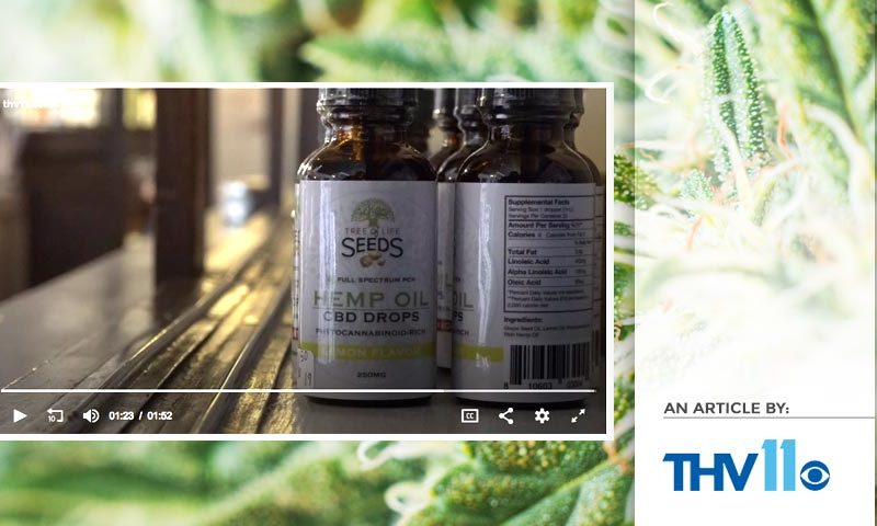 Tree of Life Seeds - Article by - THV11 - CBD Arkansas Oil Manufacturers