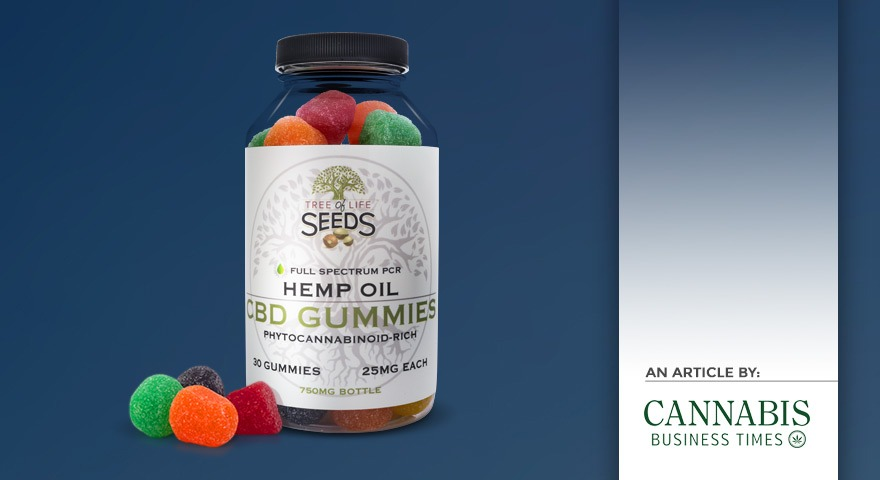 Tree of Life Seeds - Article by - Cannabis Business Times - Arkansas Hemp Company Adds CBD Gummies to Product Line