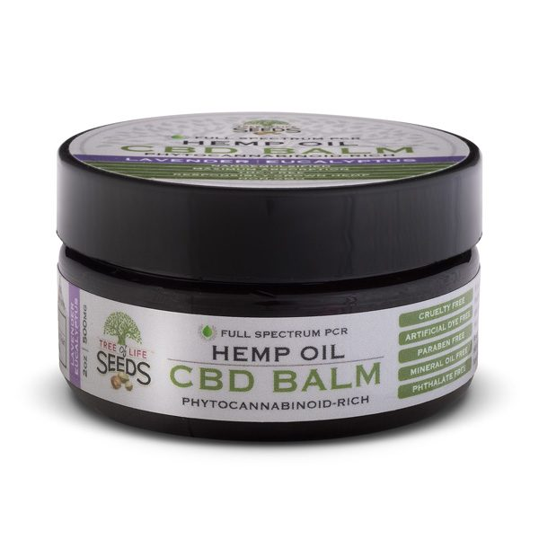 Tree of Life Seeds - Hemp Oil - CBD Balm - Eucalyptus Lavender - 500MG
