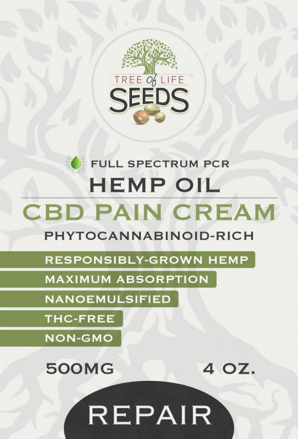 CBD Pain Cream Repair