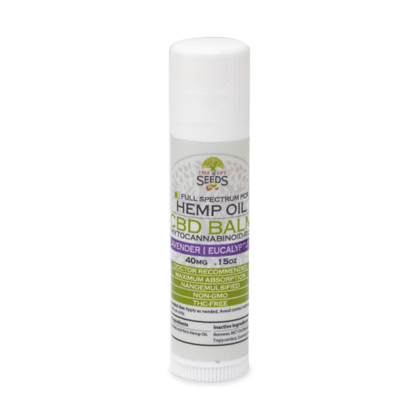 lavender stick .15oz CBD Oil balm topical