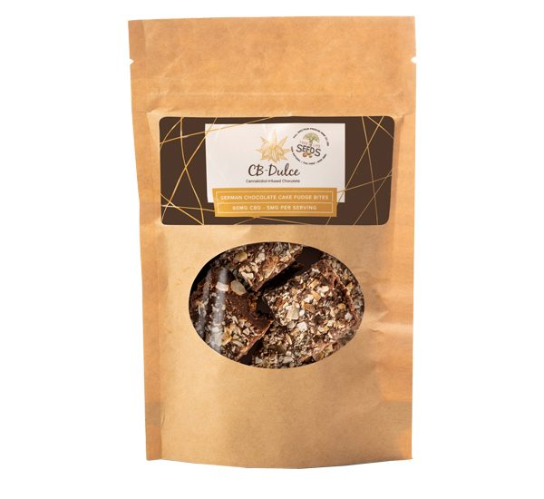 German Chocolate Fudge Bites Package
