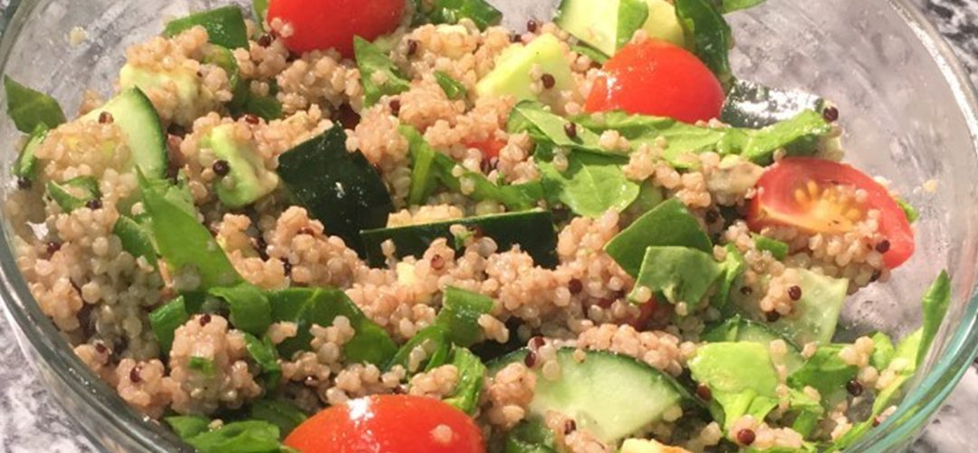 Cooking with CDB: Simple Quinoa Salad with CBD Dressing